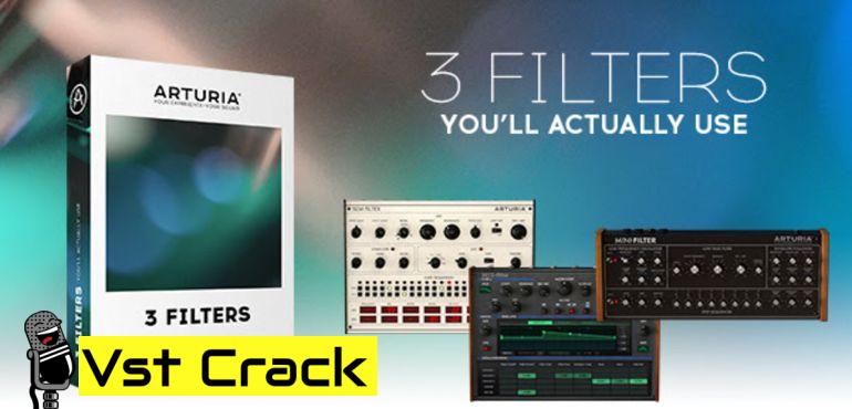 ARTURIA 3 Filters 3 Preamps MAC