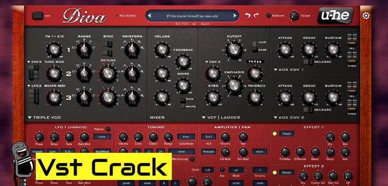 u-he-Diva-1.4.4-vst-crack