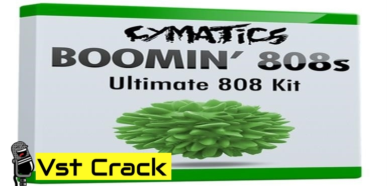 Cymatics – Boomin '808s (WAV) Sound Samples_Icon