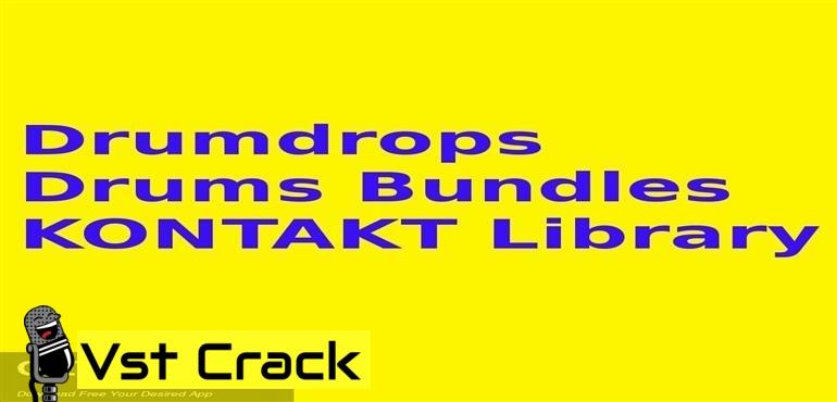 Drumdrops Drums Bundles KONTAKT Library_Icon