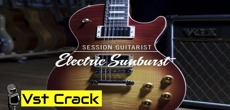 Session Guitarist Electric Sunburst KONTAKT VST Library_Icon